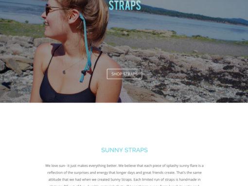 Sunny Straps Website